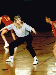 Christine Dunford with Sanaa Lathan in Love & Basketball